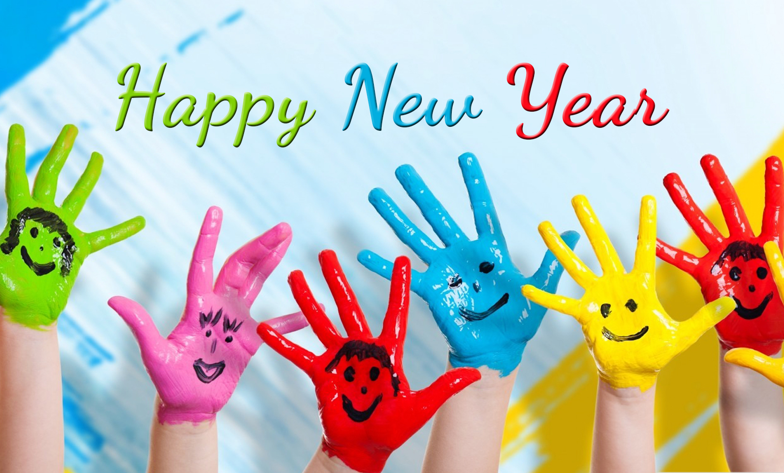 100 Happy New Year Quote Colorful Kids Happy New Year 2016
