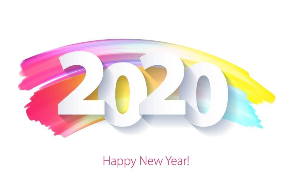 happy new year quote rainbow happy new year images